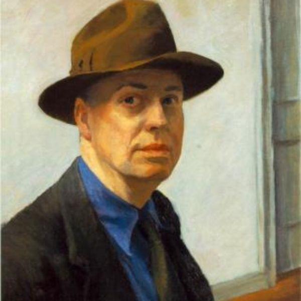 Hopper a través de las ventanas