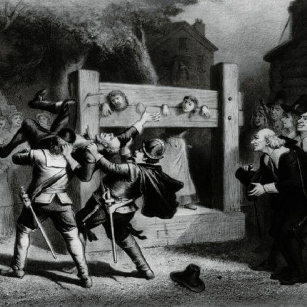 La cacería de brujas en Salem